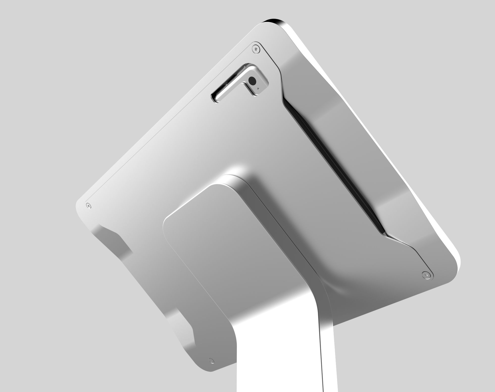 custom interactive solutions tablet stand
