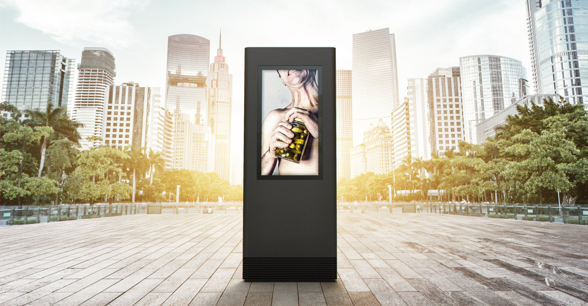 Outdoor kiosk solutions