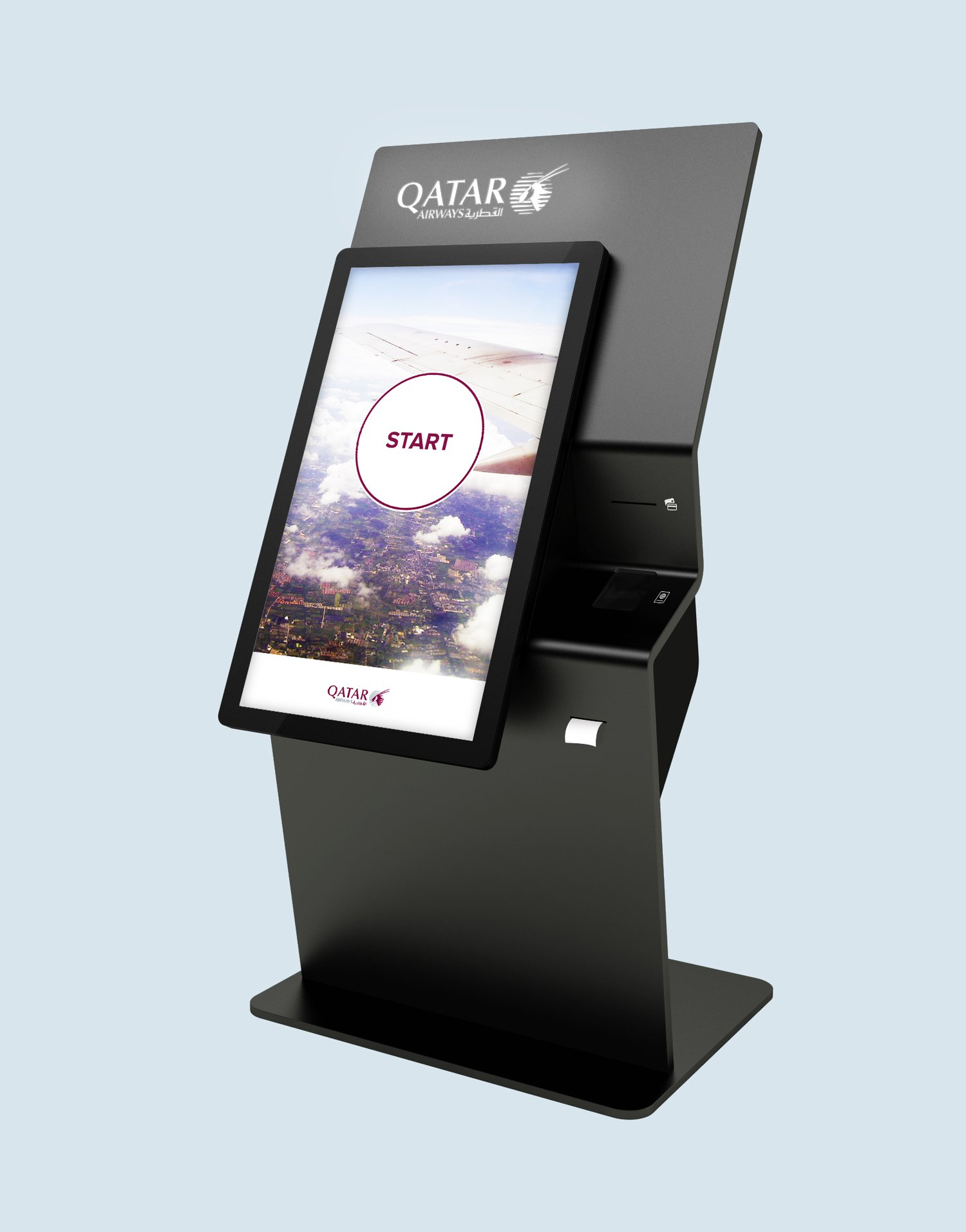 custom interactive solution interactive kiosks airport