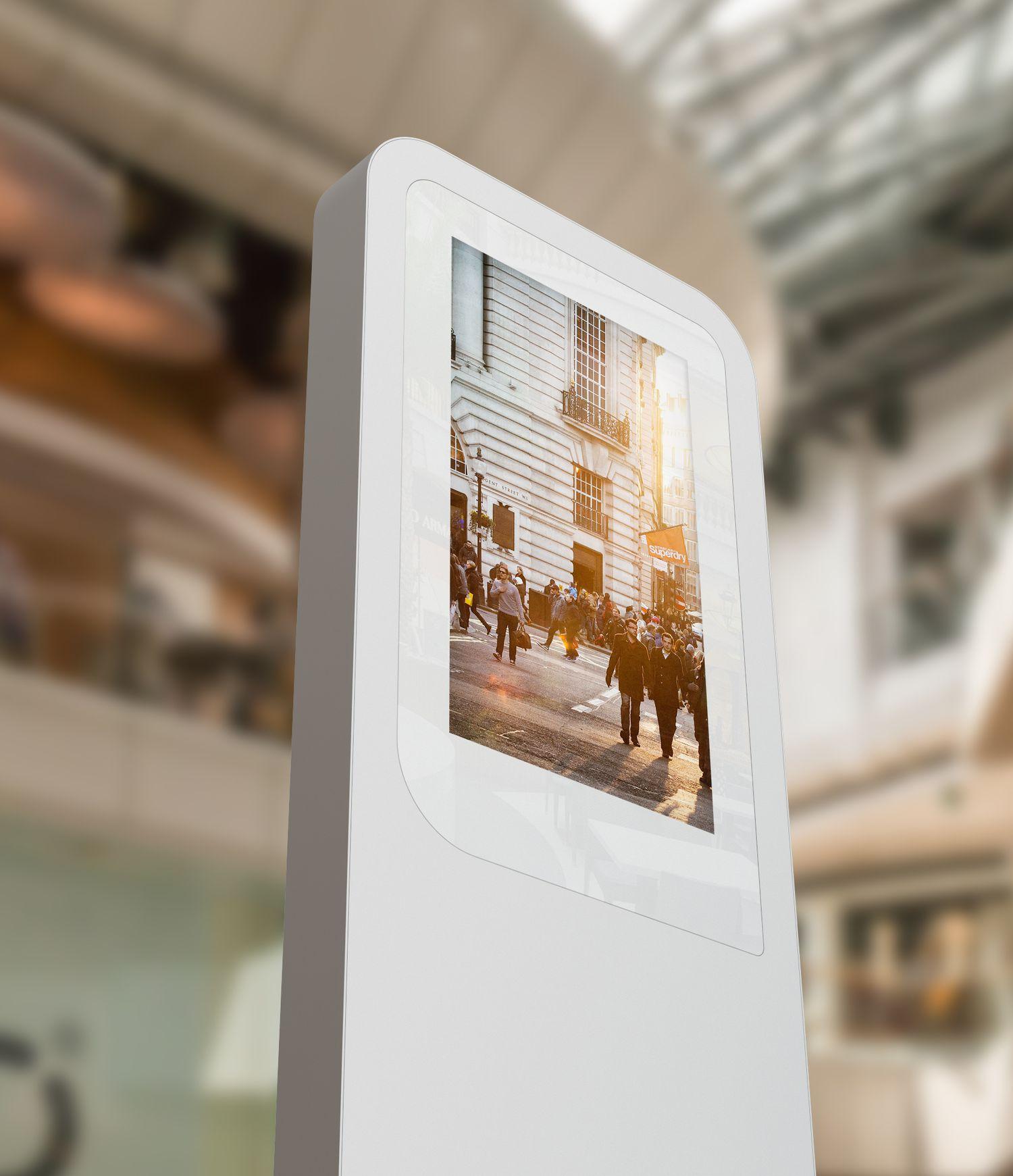custom interactive solutions interactive kiosk edigma airport