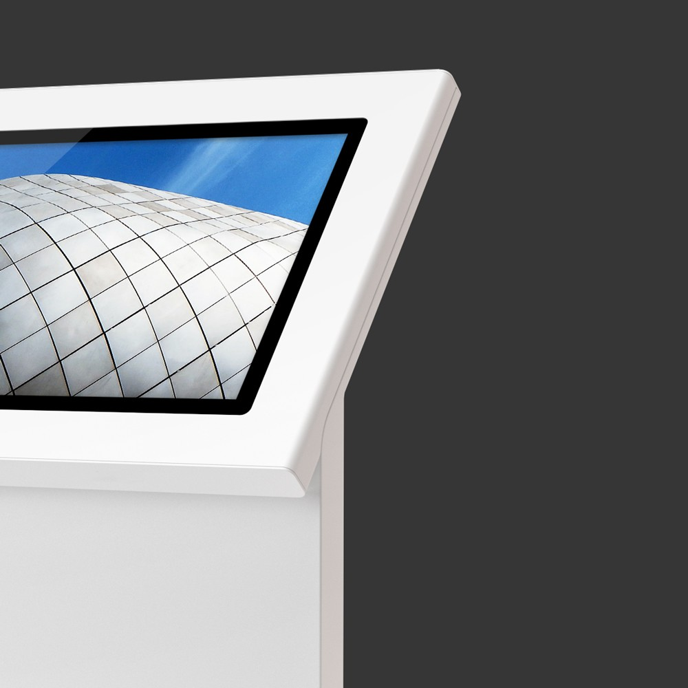 minimal interactive kiosks moobo minim af table gallery