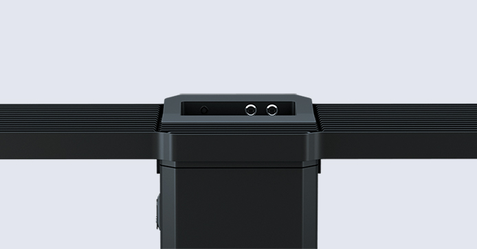 Smart bench detail